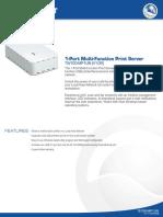 1-Port Multi-Function Print Server TW100-MP1UN