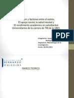 Relación y factores entre el estrés,.pptx