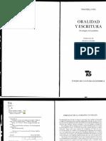 Ong, Walter - Oralidad y escritura Cap. 3.pdf