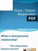 16. Nurse – Patient Relationship