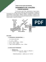 Madeira - Ligações Parafusadas - Exercícios
