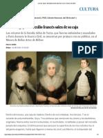 Los tres 'goyas' del exilio francés salen de su caja _ Cultura _ EL PAÍS