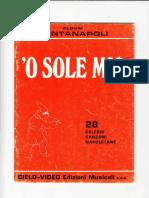 Cielo Video Edizioni Musicali - Album Cantanapoli _ 'O Sole Mio _ 28 Celebri Canzoni Napoletane.pdf