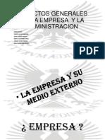 Aspectos Generales de La Empresa y La Administracion - Copia