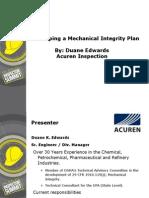 Developing a MI Plan Duane Edwards