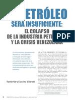 Key Villarroel El Petróleo Será Insuficiente