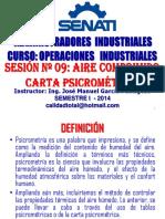 2013 - II - Opeind Sesion 09 - Psicrometrica