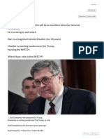 Q Thread by @GregRubini_ _1. William Barr_ My First Impression is That He Will Be an Excellent Attorney General. [THREAD] He is a Nice Guy. and Smart. Barr is a Longt […]