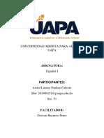 Infotecnologia 1 y 2 UAPA