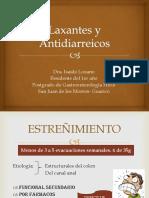 Laxantes y Antidiarreicos