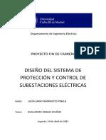 DISEÑO DE SISTEMA DE PROTECCIÓN Y CONTROL DE SUBESTACIÓN ELÉCTRICA.pdf
