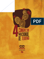 convocatoria congreso teatro 2019