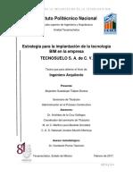 Estrategia para la implantación de la tecnlogía Bim en la empresa .PDF
