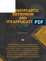 Thermoplastic Extrusion
