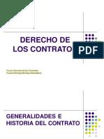 Diapositivas Derecho de los Contratos Sesión N° 1 - Antecedentes e Introducción