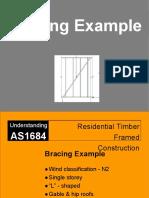 Bracing Example - Manual Calculation