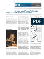 Young African American Women Architects