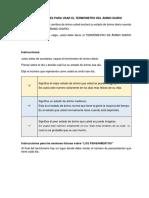 Instrucciones Para Usar El Termómetro Del Ánimo Diario