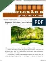 REFLEXÃO BÍBLICA_ Pequenas Reflexões_ Como Conhecer a Deus_.pdf