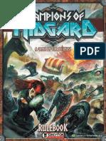 Champions of Midgard Manual Da Segunda Versao Do j 48908