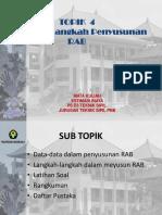 Topik 4 - LANGKAH2 NYUSUN RAB.pptx