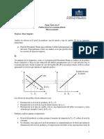 Pauta Tarea Nro.9 Macroeconomia Advance Ing. en Administracion UNAB 2011