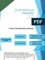 Control de Patículas Primarias