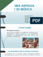 Historia de roma y su musica