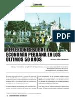 Reflexiones Sobre La Economia Peruana