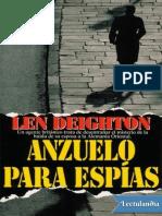 Anzuelo Para Espias - Len Deighton