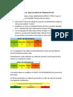 Guia Para Carga de Datos de AREAS de TRABAJO en SAP