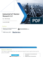Industrial IoT - Market Research