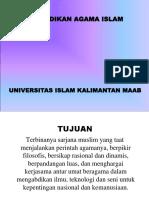 Materi Kuliah Agama Islam