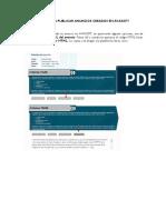 Pasos Para Publicar Anuncios Creados en Avasoft