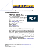 Accelerated Tumor Invasion Under Non-Isotropic Cell Dispersal in Glioblastomas.