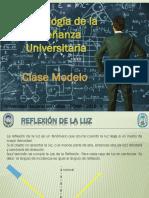 Clase Modelo Reflexion