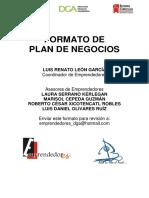 Formato Plan de Negocios 17