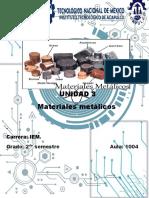 Reporte de Tecnologia de Los Materiales 2