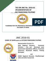 Orientation MLs and MLGOOs JMC 2016 01