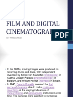 Film and Digital Cinematography