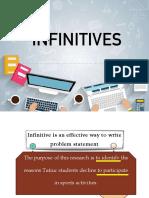 Topic 2-Grammar Infinitives