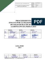 UT.GYN.PR.001-17 Rev.00 AWS D1.5M-D1.5-2015
