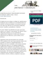 Uranianos, Invertidos y Amorales _ Topía