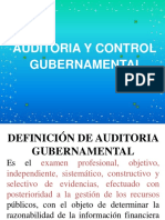 Auditoria y Control de La Gestion