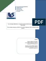 Las Estrategias Didacticas y Su Papel en El Desarrollo Del Proceso de Enseñanza Aprendizaje