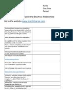 truong webcercise worksheet