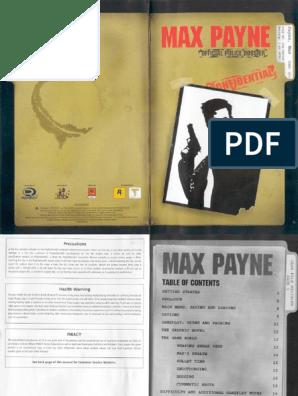 max payne 1 ps2 rom