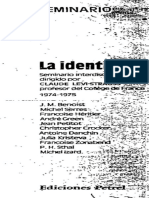 Levi-Strauss, Claude (coord) - La identidad (Parte 1-4).pdf