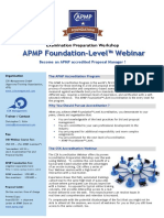 APMP Foundation Level Webinar