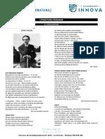 Avance 11. Vanguardismo, Generacion 50 y 60